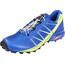 Salomon Speedcross Pro Shoes Men surf the web/lime green/black